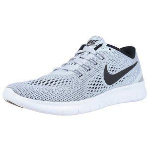 Nike Womens Free White Black Running Shoes